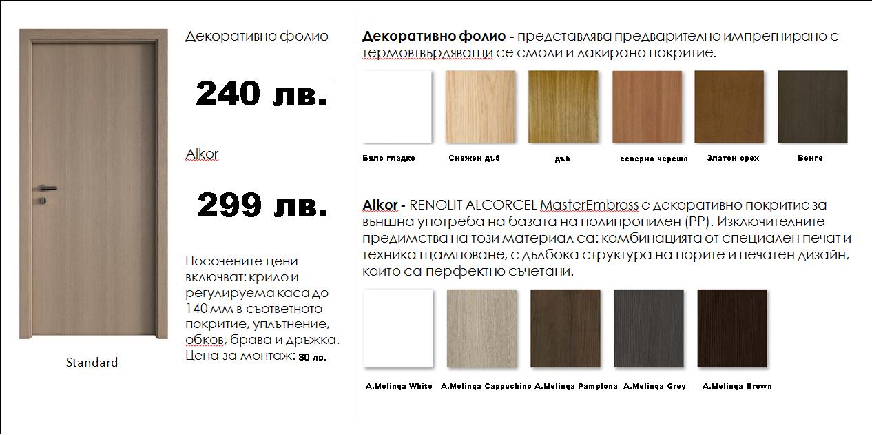 Магазин ДЕКОР-C bgvrata.com  - качествени врати на достъпни цени.